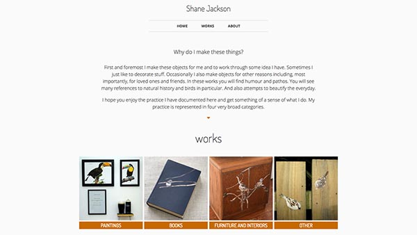 shanejackson-art website