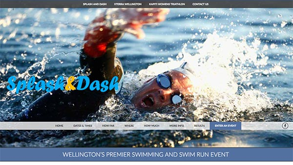 splashanddash website